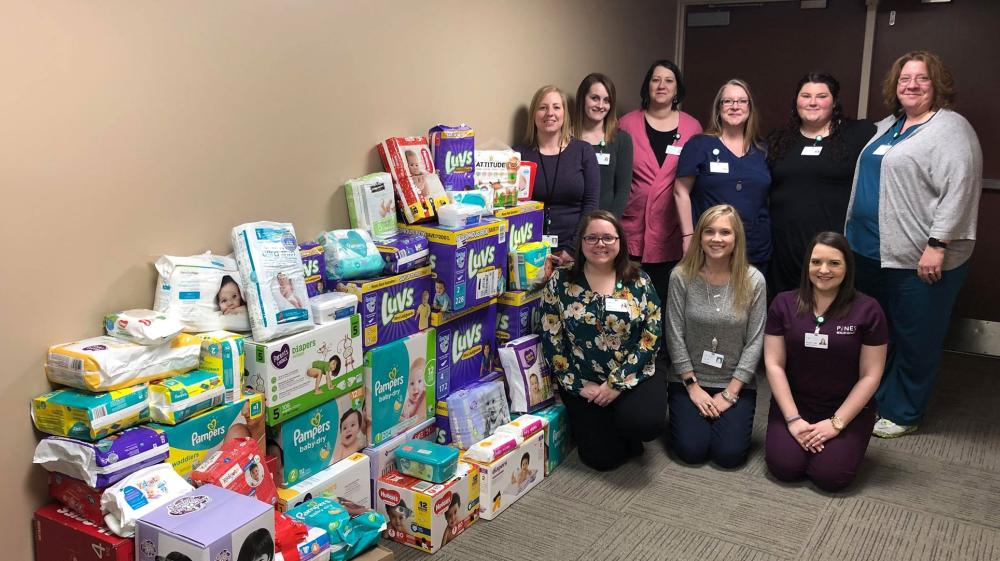 Pines Health Services Hosts 2nd Annual Diaper Drive With Even Greater Success